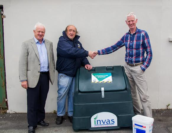 Presentation of INVAS Disinfection Station to Edenderry Coarse Angling Club